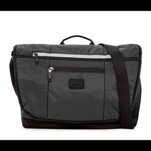 Tumi Lombard Expandable Nylon Messenger Bag, NWT